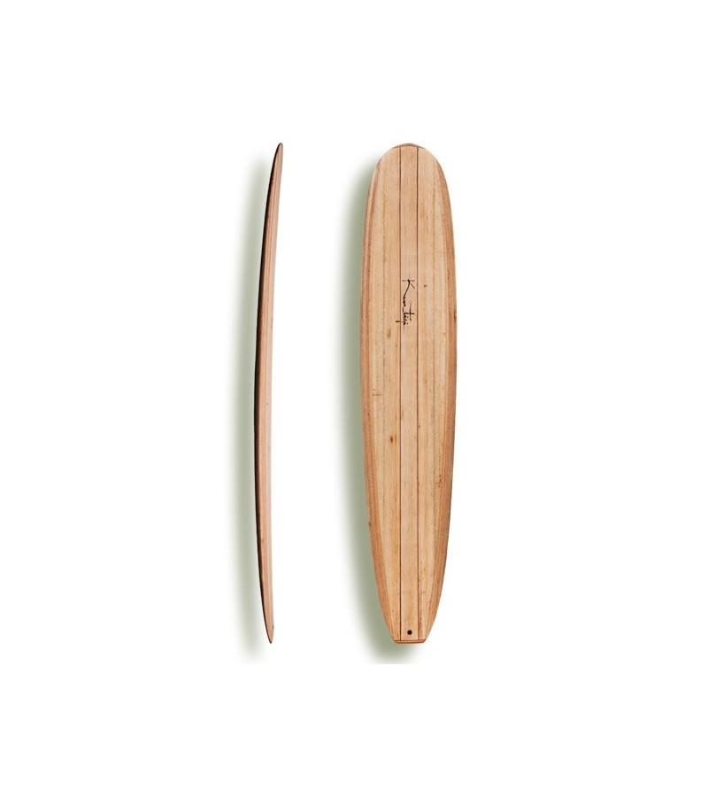 "Kun_tiqi Balsa Longboard ""Noserider"""
