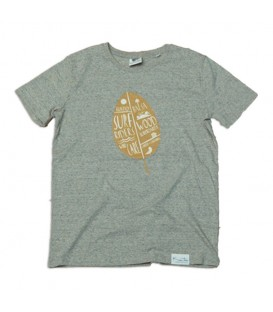 """Kun_tiqi T-Shirt """"Leaf"""", marbled - Man"""