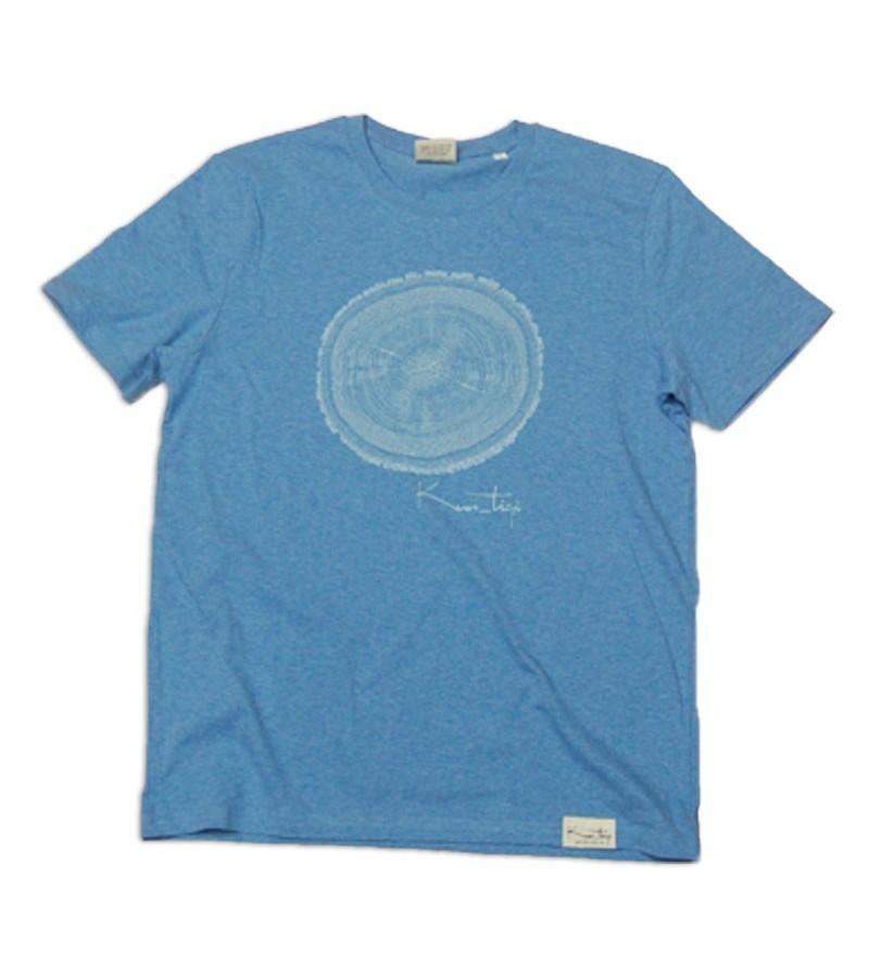 Kun_tiqi T-Shirt Life Cycle, mid heather blue