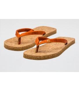 "Cork Sandalias ecológicas de corcho ""Flame"""