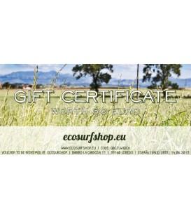 Geschenk Gutschein Ecosurfshop.eu