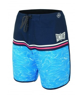 Picture Organic Clothing Men's Stretch Boardshorts- ANDY 17'' Waves
