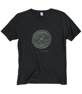 "Tee-shirt Kun_tiqi ""Life Cycle"", Sage"