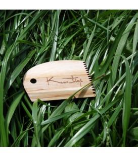 Peine de parafina de madera