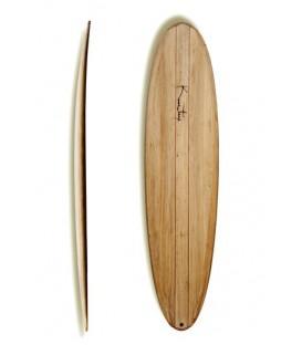 "Kun_tiqi Balsa Surfboard ""Fegg"""