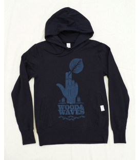 Kun_tiqi Hoody Wood&Waves, navy