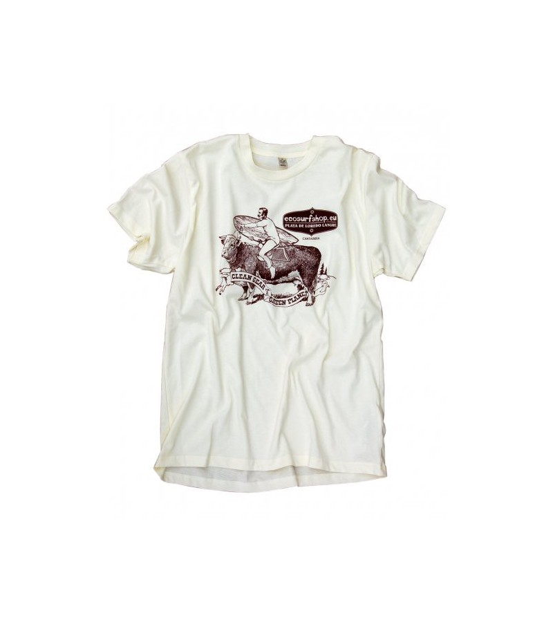 Ecosurfshop.eu T-Shirt Organic & Fair naturfarben