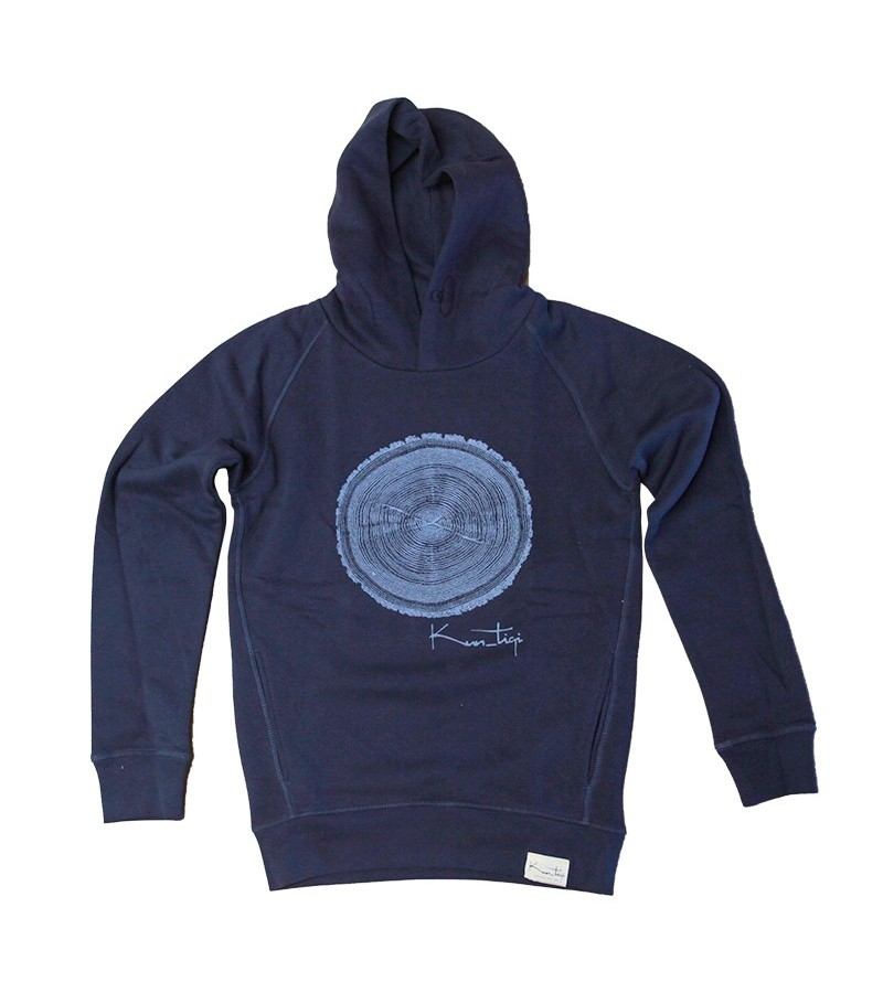 Ecosurfshop.eu Hoodie, deep royal blue - Man