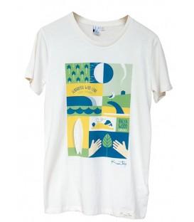 Kun_tiqi Camiseta - natural – Hombres