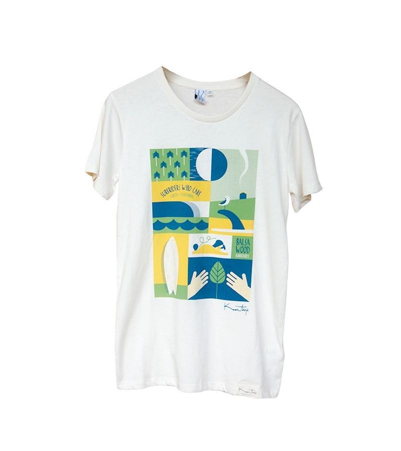 Kun_tiqi T-Shirt Daily, beige - Männer