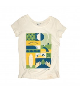 Kun_tiqi T-Shirt Daily, white - woman