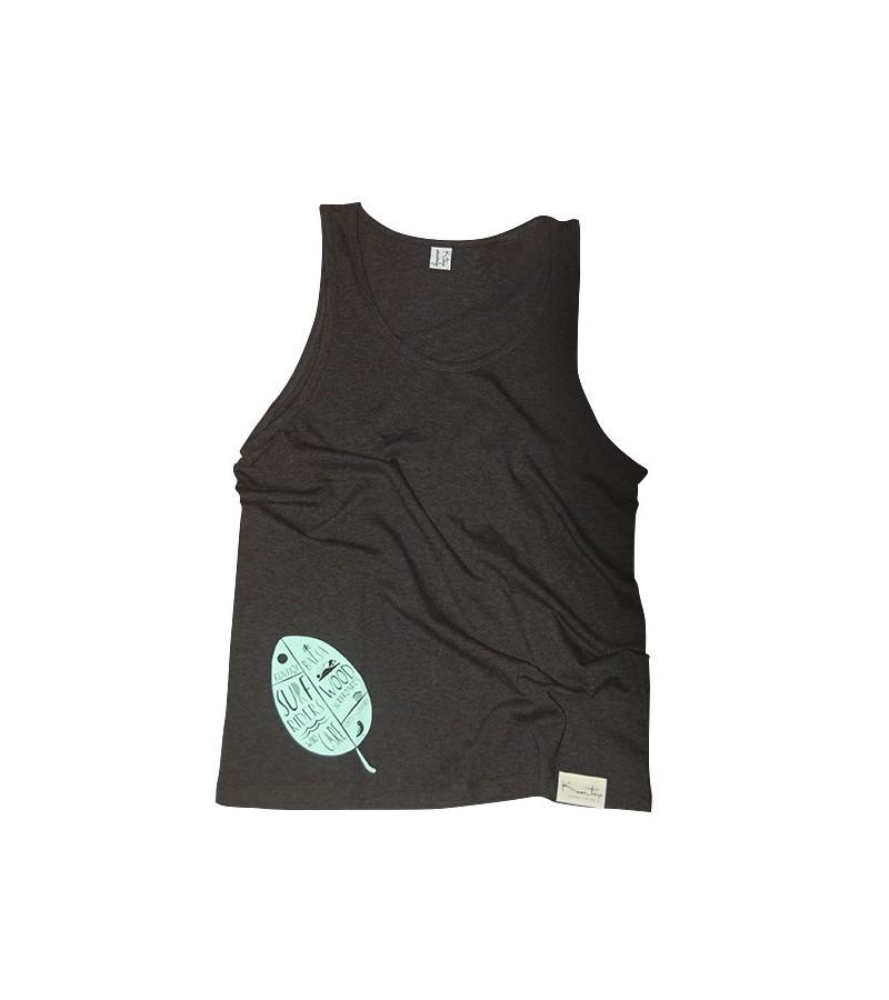 Kun_tiqi T-Shirt Logo, blau - Männer