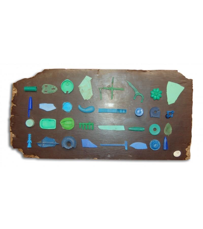 Meerkreativitaet pieces in blue